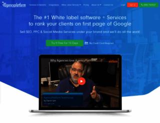 agencyplatform.com screenshot