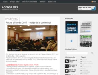 agenda-mea.blogspot.com screenshot