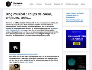 agenda-musical.com screenshot