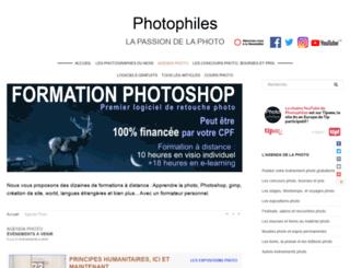 agenda-photophiles.com screenshot
