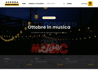 agenda.giornaledibrescia.it screenshot