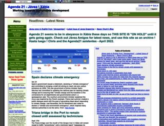 agenda21-xabia.wikidot.com screenshot