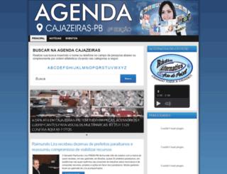 agendacajazeiras.com.br screenshot