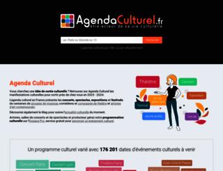 agendaculturel.fr screenshot