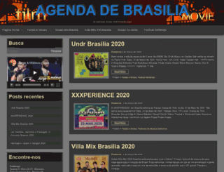 agendadebrasilia.com screenshot
