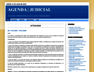 agendajudicial.blogspot.com.ar screenshot