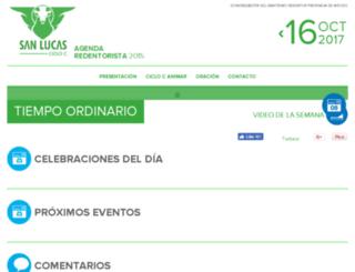 agendaredentorista.com screenshot