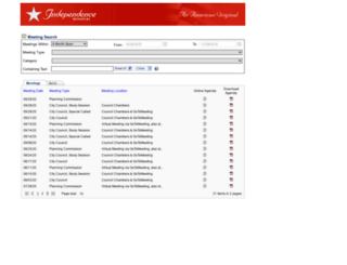 agendas.indepmo.org screenshot