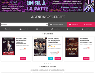 agendaspectacles.fr screenshot