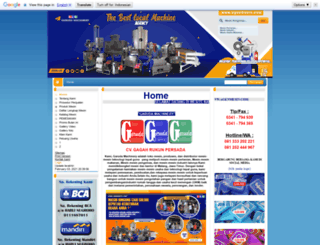 agenmesin.com screenshot