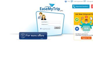 agent.easemytrip.com screenshot