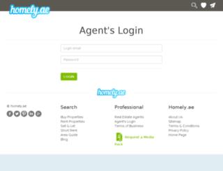 agent.homely.ae screenshot