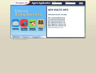 agent.sriwijayaair.co.id screenshot