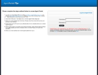 agent.u1stfinancial.com screenshot