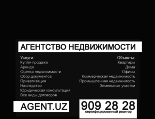 agent.uz screenshot