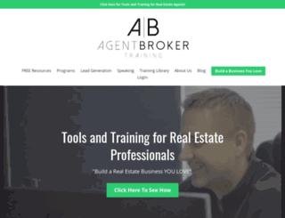 agentbrokertraining.com screenshot