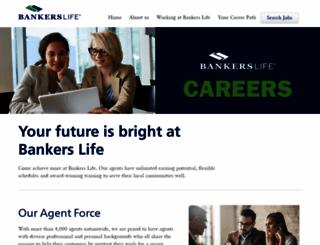agentcareers.bankers.com screenshot