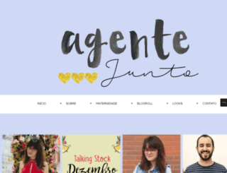agentejunto.com.br screenshot
