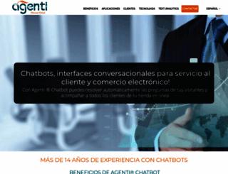 agenti.com.co screenshot