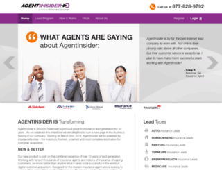 agentinsider.com screenshot