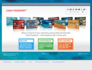 agentnet.cashpassport.com screenshot