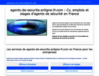 agents-de-securite.enligne-fr.com screenshot