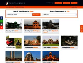 agents.com.pk screenshot