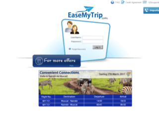 agents.easemytrip.com screenshot