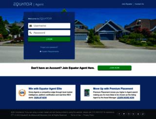 agents.equator.com screenshot