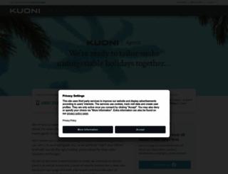 agents.kuoni.co.uk screenshot