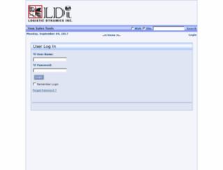 agents.logisticdynamics.com screenshot