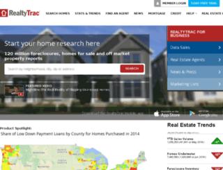 agents.realtytrac.com screenshot