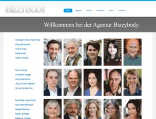 agentur-bizzybody.de screenshot