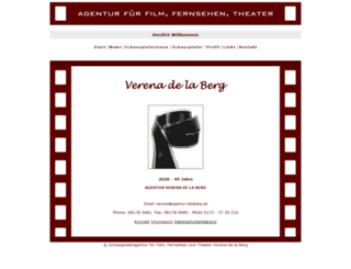agentur-delaberg.de screenshot