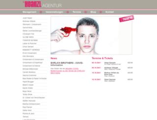 agentur-hoanzl.at screenshot