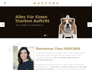 agentur-mascara.de screenshot