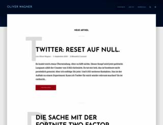 agenturblog.de screenshot