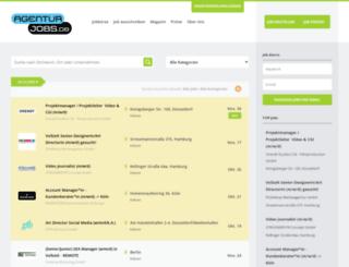 agenturjobs.de screenshot