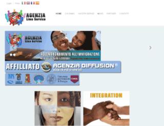 agenzialimoservice.com screenshot