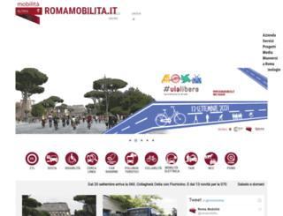 agenziamobilita.roma.it screenshot