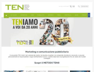 agenziaten.com screenshot