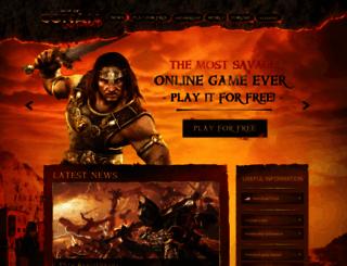 ageofconan.com screenshot