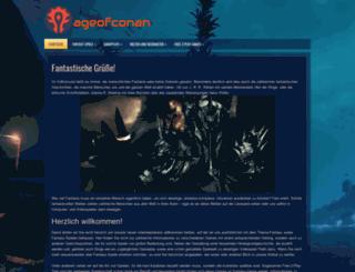 ageofconan.de screenshot