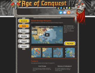 ageofconquest.com screenshot