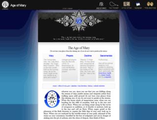ageofmary.com screenshot