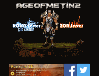 ageofmetin2.com screenshot