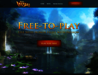 ageofwushu.com screenshot