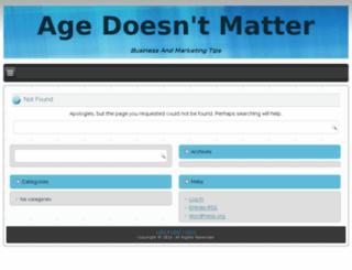 agevd.org screenshot