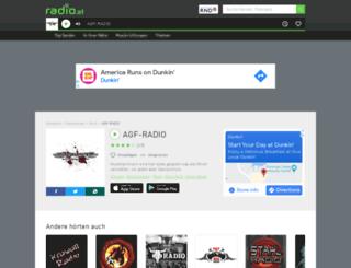 agf.radio.at screenshot