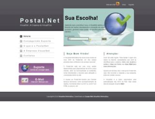 agfjumana.postal.net.br screenshot